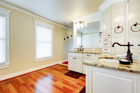 High-End Country Master Bathroom