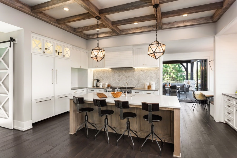 High-End Rustic Kitchen