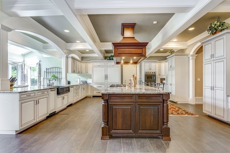 High-End Country Kitchen