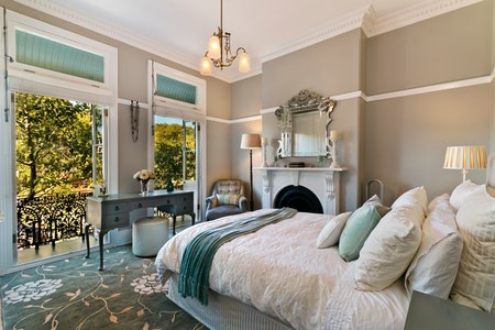 High-End Traditional Guest Bedroom