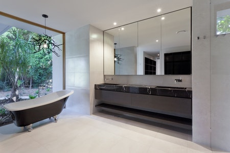 Upgraded Modern Master Bathroom